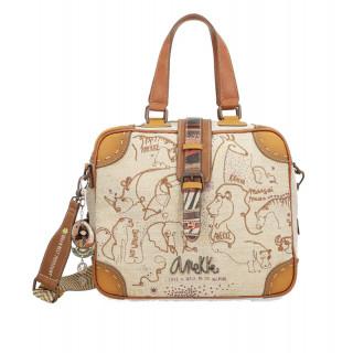 Anekke Kenya Handbag Multicolor Safari Theme