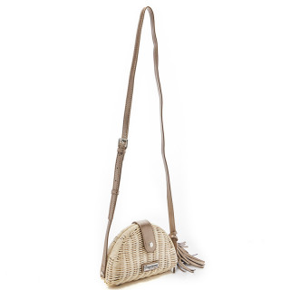 Les Tropéziennes Macala Bag Trotter In Natural Wicker