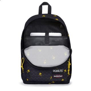 "Eastpak Out Of Office Backpack 13"" Laptop k55 peanuts woodstock"