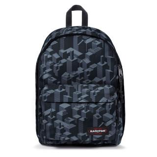 """Eastpak Out Of Office Backpack 13"""" Laptop k88 Pixel Black"""