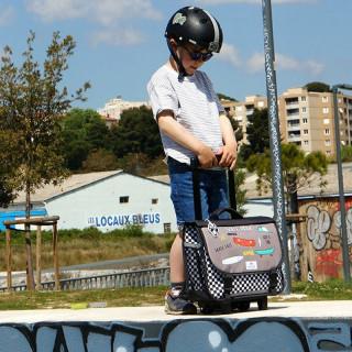 Pol Fox Cartable Trolley Réversible 38cm Skate