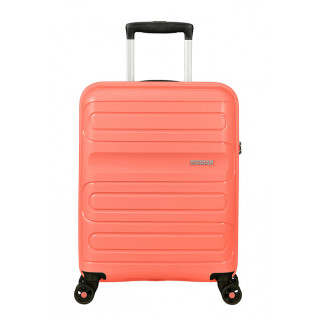 American Tourister Sunside Valise Cabine Trolley 4 Roues Living Coral