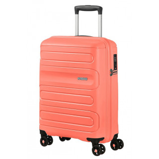 copy of American Tourister Sunside Spinner 55 cm Suitecase Trolley Cabin 4...