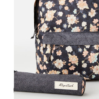 Rip Curl Surf Gypsy Sac à Dos Double Dome et trousse Washed Black