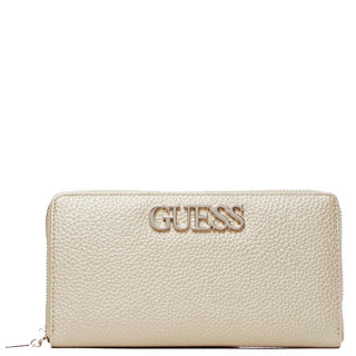Guess Uptown Companion Large Zip Around Gold