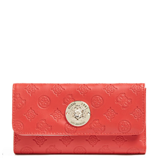 Guess Uptown Compagnon Large Zip Around Red
