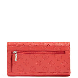 Guess Uptown Companion Large Zip Around Red