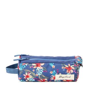 Rip Curl Havana Floral Trousse Double Compartiment Blue