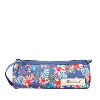 Rip Curl Havana Floral Trousse Ronde Pencil Case Blue