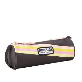 Rip Curl Surf Revival  Trousse Ronde Pencil Case Washed Black Pe
