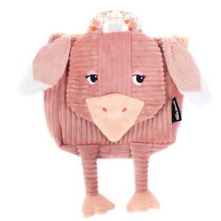 Les Deglingos Bag in Doudou Satchel Pomelos The Ostrich