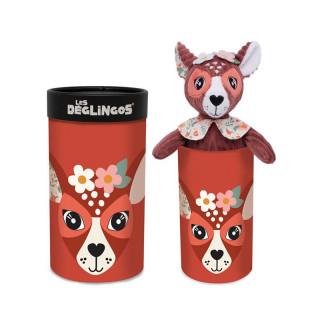 Les Deglingos Great Plush Doudou Melimelos The Doe