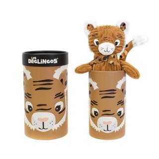 Les Deglingos Great Plush Doudou Speculos The Tiger