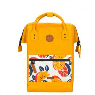 "Cabaïa Medium Marrakech Backpack 13"" Yellow"