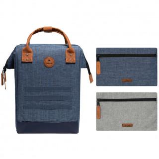 "Cabaïa Medium Paris Backpack 13"" Bleu de face"