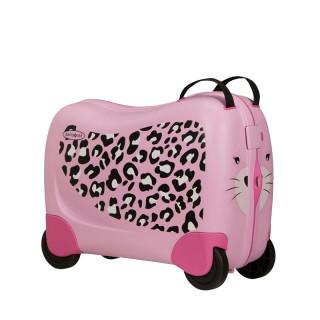 Samsonite Dream Rider Suitecase Kids Cabin 4 Wheels Leopard L