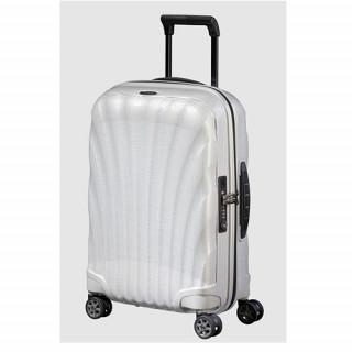 Samsonite C-lite Spinner Suitcase 55 cm 4 Wheels 122859 1277 Off White