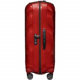 Samsonite C-lite Spinner Suitcase 75cm 4 Wheels Chili Red