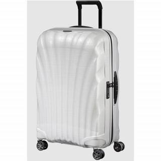 Samsonite C-lite Spinner Suitcase 75cm 4 Wheels Off White