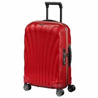 Samsonite C-lite Spinner Suitcase 69cm 4 Wheels Chili Red