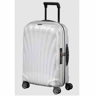 Samsonite C-lite Spinner Suitcase 69cm 4 Wheels Off White