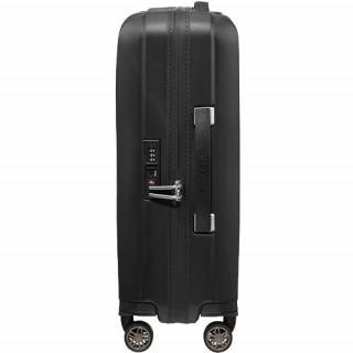 Samsonite Hi-Fi Valise Trolley 55 cm 4 Roues Black de biais