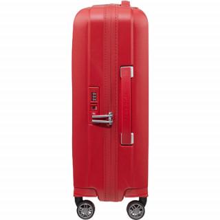 Samsonite Hi-Fi Valise Trolley 55 cm 4 Roues Red de biais