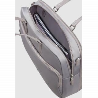"Samsonite Karissa Biz 2.0 Computer Carrying Case 15.6"" 2 Compartments Lilac Grey"