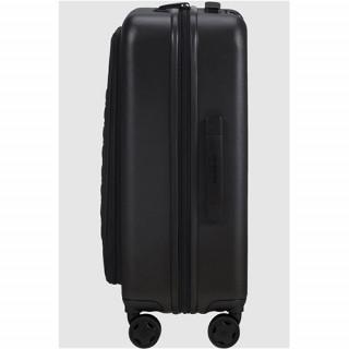 Samsonite Magnum Eco Valise Trolley 55 cm 4 Roues Black de face