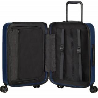 Samsonite Magnum Eco Trolley Suitcase 55 cm 4 Wheels Navy