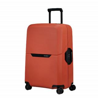 Samsonite Magnum Suitecase Cabin 4 Wheels 55cm Maple Orange
