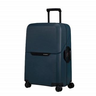 Samsonite Magnum Suitecase Cabin 4 Wheels 55cm Midnight Blue