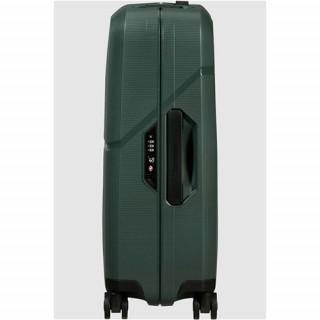 Samsonite Magnum Eco Valise 4 Roues 75cm Forest Green de biais