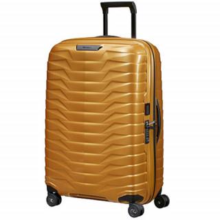 Samsonite Proxis Suitecase 4 Wheels 75cm Honey Gold de biais