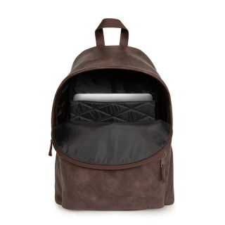 Eastpak Padded Pak'r Backpack J01 Grained Brown