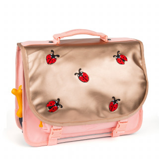 Stones And Bones Cartable 38cm Lily Ladybug Pink