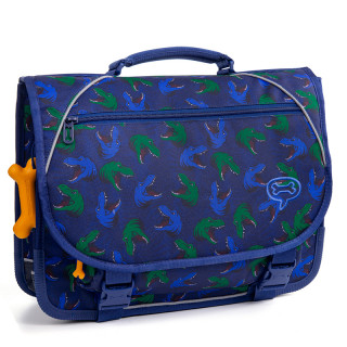 Stones And Bones Cartable 38cm Lily T Rexes Electric Blue