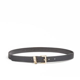 Guess Destiny Leather Belt 25mm Adjustable Black