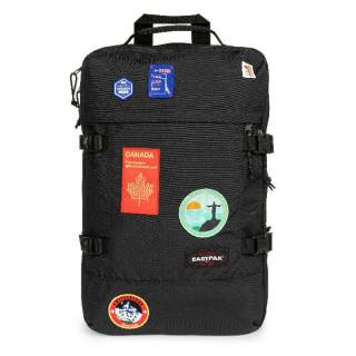 Eastpak Tranzpack Sac À Dos Business et Bagage Cabine K50 Patched Black de face