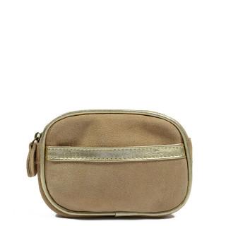 Farfouillette Iridescent Wallet 6887 Beige