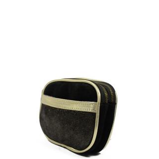 Farfouillette Iridescent Wallet 6887 Black