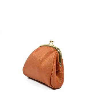 Farfouillette Porte-Monnaie Irisé 6784 Orange de face