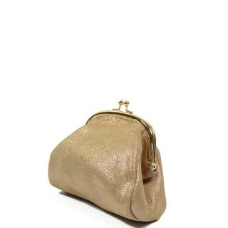Farfouillette Iridescent Wallet 6784 Taupe