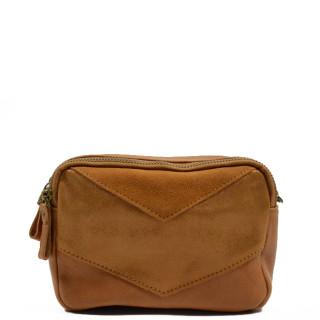 Farfouillette Small Shoulder Bag  6704 Camel