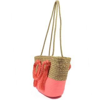 Farfouilette Bohemian Basket Cabas 6588 Pink