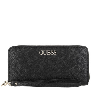 Guess Alby Companion Large Zip Around Black