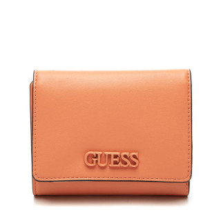 Guess Central City Wallet Compact Coral