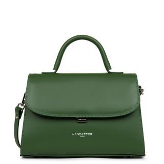 Lancaster Smooth Even Mini Leather Handbag 437-17 Vertpin