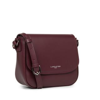 Lancaster Smooth Crossbody Bag 437-15 Pourpre