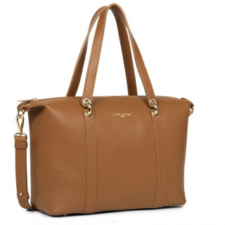 Lancaster Foulonne Double Bag Shopping 470-37 Camel In Or